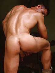 Classic good-looks, sculpted physique, huge uncut cock: Matthias has it all - Gay porn pics at GayStick.com