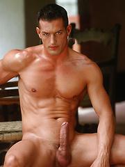 Classic good-looks, sculpted physique, huge uncut cock: Matthias has it all - Gay porn pics at GayStick.com