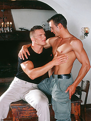 Eric and Vilem are real-life friends - Gay porn pics at GayStick.com
