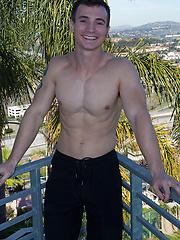 Shy guy Jeremy - Gay porn pics at GayStick.com