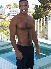 Dark-skinned guy Chad - Gay porn pics at GayStick.com