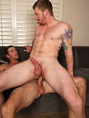 Peter and David: Bareback - Gay porn pics at GayStick.com