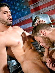 Raging Stallion - Tommy Defendi & Ray Han - Gay porn pics at GayStick.com