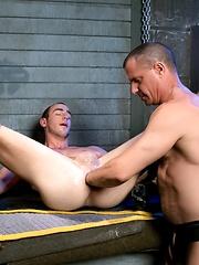 Fetish Force - Byron Saint & Christian Mitchell - Gay porn pics at GayStick.com