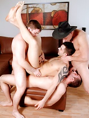 Men of Montreal – 1ST ANNIVERSARY GANG BANG: FELIX TAKES THE HIT!