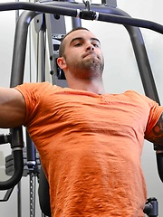Men of Montreal – Post Work Out Relief - Gay porn pics at GayStick.com