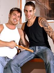 Men of Montreal – Drilling! - Gay porn pics at GayStick.com