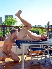 Men of Montreal – Cum Dinner For Two - Gay porn pics at GayStick.com