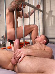 Club Inferno Dungeon – Long Arm Of The Law Part 2 (Scene 3) - Gay porn pics at GayStick.com