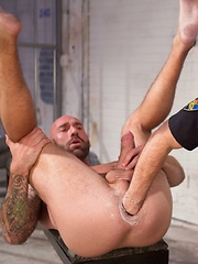 Club Inferno Dungeon – Long Arm Of The Law (Scene 3) - Gay porn pics at GayStick.com