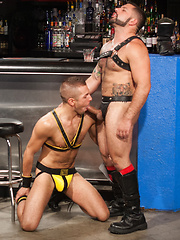 Club Inferno Dungeon – Last Call For Handball (Scene 4) - Gay porn pics at GayStick.com