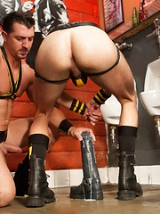 Club Inferno Dungeon – Last Call For Handball (Scene 1) - Gay porn pics at GayStick.com