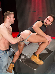 Club Inferno Dungeon – Red Handed (Scene 3) - Gay porn pics at GayStick.com
