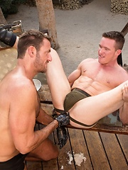 Club Inferno Dungeon – Fire in the Foxhole (Scene 2) - Gay porn pics at GayStick.com