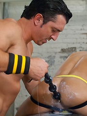 Club Inferno Dungeon – Hole Busters 7 (Scene 2) - Gay porn pics at GayStick.com
