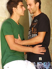 Marco Kole and Maxim Moira fucking outdoors. - Gay porn pics at GayStick.com