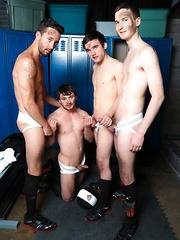 Circle Jerk Boys - Rowdy Sweaty Boys - Gay porn pics at GayStick.com