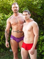 Austin Wolf & Joe Clark - Gay porn pics at GayStick.com