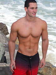 Nude jock Dominic - Gay porn pics at GayStick.com