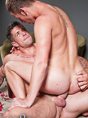 Trenton Ducati Fulfills the Lustful Needs of Blond Twink Justin Cruise - Gay porn pics at GayStick.com