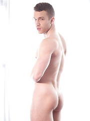 Michael Lucas Fucks Jake Andrews Bareback - Gay porn pics at GayStick.com