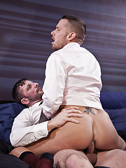 Morgan Black Bottoms for Shane Frost in a Suit - Gay porn pics at GayStick.com