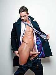 Michael, Addison, and Seth: A Bareback Coffee Break - Gay porn pics at GayStick.com