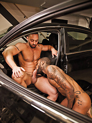 Hot Rod and Fabio Stallone Sneak Away for Some Bareback Fun - Gay porn pics at GayStick.com