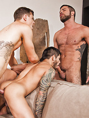Jed's Birthday Party Retreat Turns into a Wild Sex Party - Gay porn pics at GayStick.com