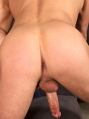 Blond Dusty and standing cock - Gay porn pics at GayStick.com