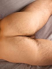 Posing muscular Gabe