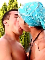 Tony Climbs Mt. Felipe - Gay porn pics at GayStick.com