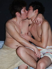 Asina boys shoots load on each others faces - Gay porn pics at GayStick.com
