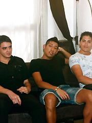 Abels Able Gangbang - Gay porn pics at Gaystick