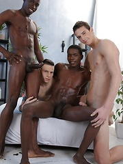 Dick Casey's Smokin' Hot Ass Gets The Interracial Double-Penetration It Deserves! - Gay porn pics at GayStick.com