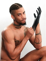 Next Door Ebony - Wicked in Leather - Gay porn pics at GayStick.com