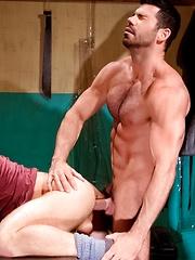 Raging Stallion - Shawn Wolfe & Billy Santoro - Gay porn pics at GayStick.com