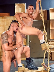 Raging Stallion - Boomer Banks & Trelino - Gay porn pics at GayStick.com