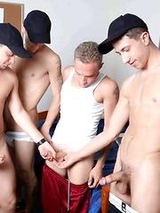 Circle Jerk Boys - Wake Up Prank - Gay porn pics at GayStick.com