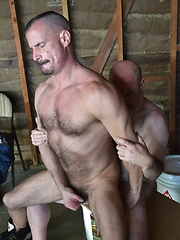 Jeffrey Huntwell and Christian Mitchell, A Classic Bear and His Wolf Power Bottom - Gay porn pics at GayStick.com