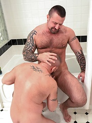 Cooper Hill On The Receiving End Of Marc Angelo\'s Daddy Cock - Gay porn pics at GayStick.com