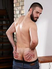 Father Figure Fantasy Cums True For Kris Irons With Alex Marte - Gay porn pics at GayStick.com