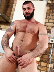 Big, Thick, Uncut Porn Titan Alex Marte - Gay porn pics at GayStick.com