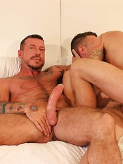 Ray Dalton And Kyle Braun Use Cy Cohen As A Fuck Toy - Gay porn pics at GayStick.com