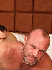Chad Brock Pounded Raw By Throbbing Beefcake Brad Kalvo - Gay porn pics at GayStick.com