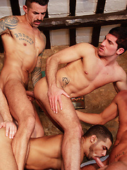 Toby Dutch, Lucas Fox, Leo Domenico, Geoffrey Paine, Joe Gunner - Gay porn pics at GayStick.com