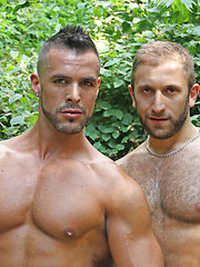 Jalil Jafar and Denis Vega - Gay porn pics at GayStick.com