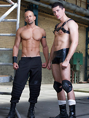 Punk rat Bruno shows Jay where his place is, namely as a slave at his side. With relish Jay blows... - Gay porn pics at GayStick.com
