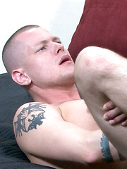 Next to tackle Bailey\'s bottoming streak is Ryan; a seemingly straight fellow, but curious enough... - Gay porn pics at GayStick.com