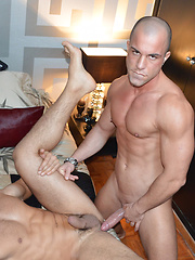 Damien Crosse directs the latest scene on StagHomme.com.   Featuring sexy Antonio Aguilera and ... - Gay porn pics at GayStick.com